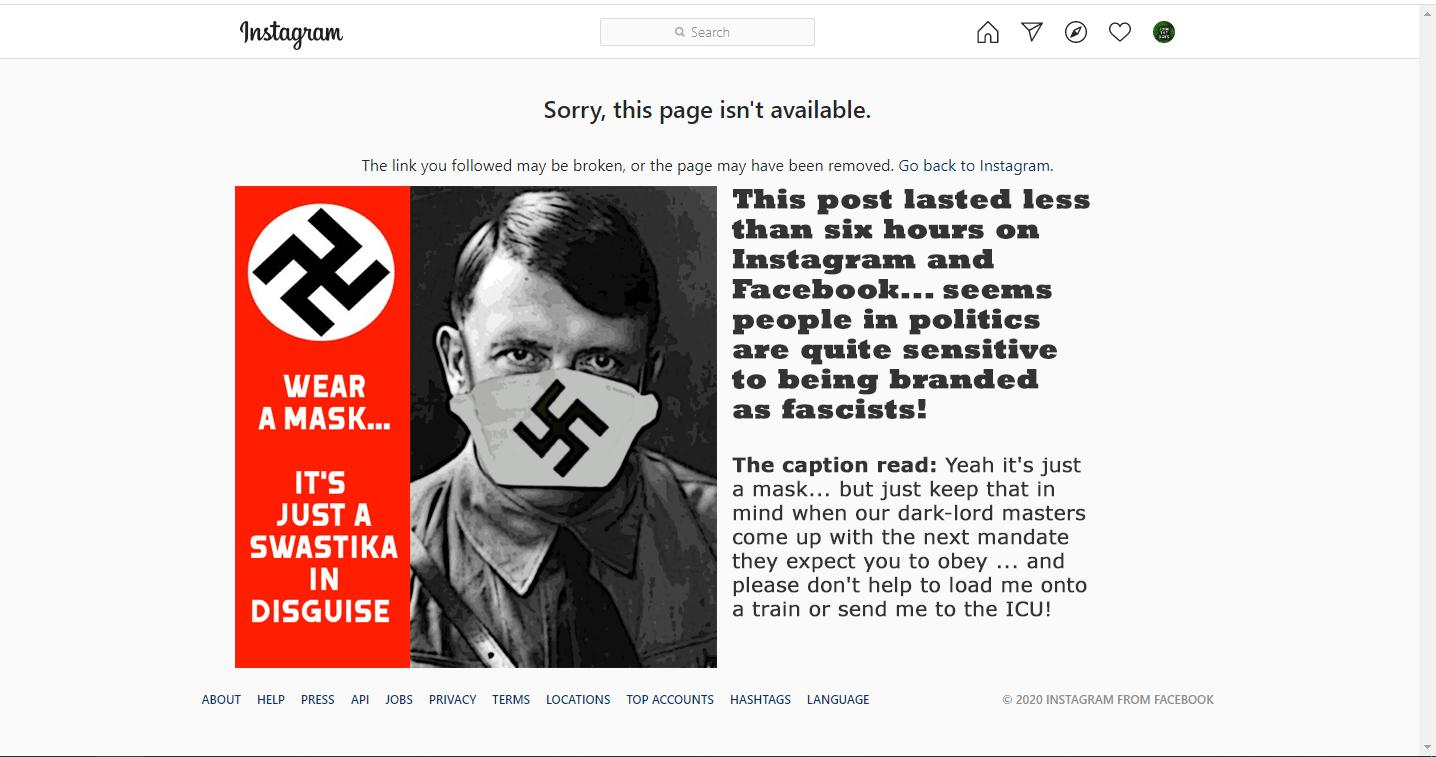 Swastika Mask
